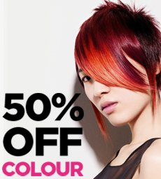 Hair Colour Discount Day