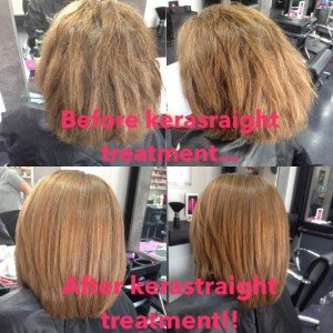 kerastraight before and after