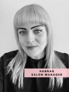 Hannah – Salon Manager