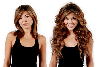 Dry Hair Fully And Use A Extension Protein Spray