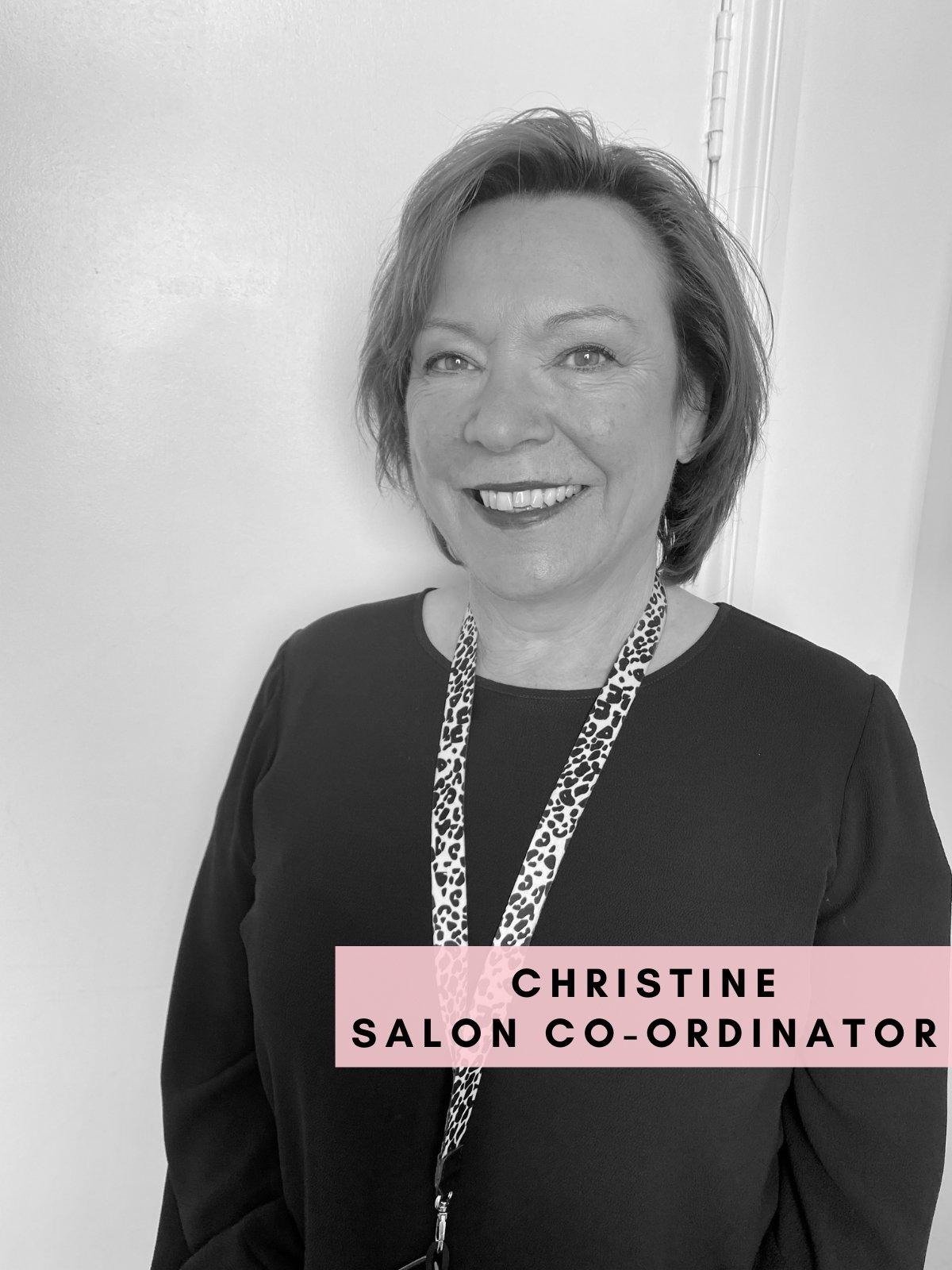 Christine – Salon Co-Ordinator