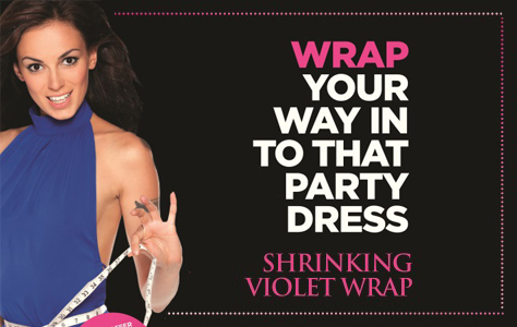 Wrap Your Way Into That Party Dress!