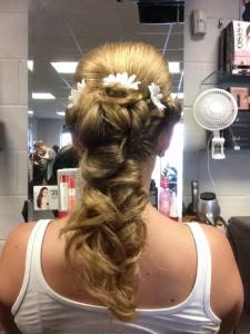 abbie hair up