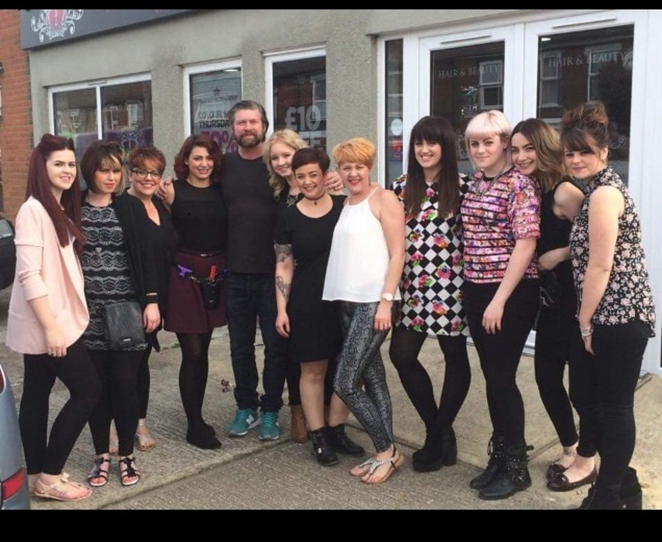 Lee Stafford comes to Hair Ministry, Ipswich