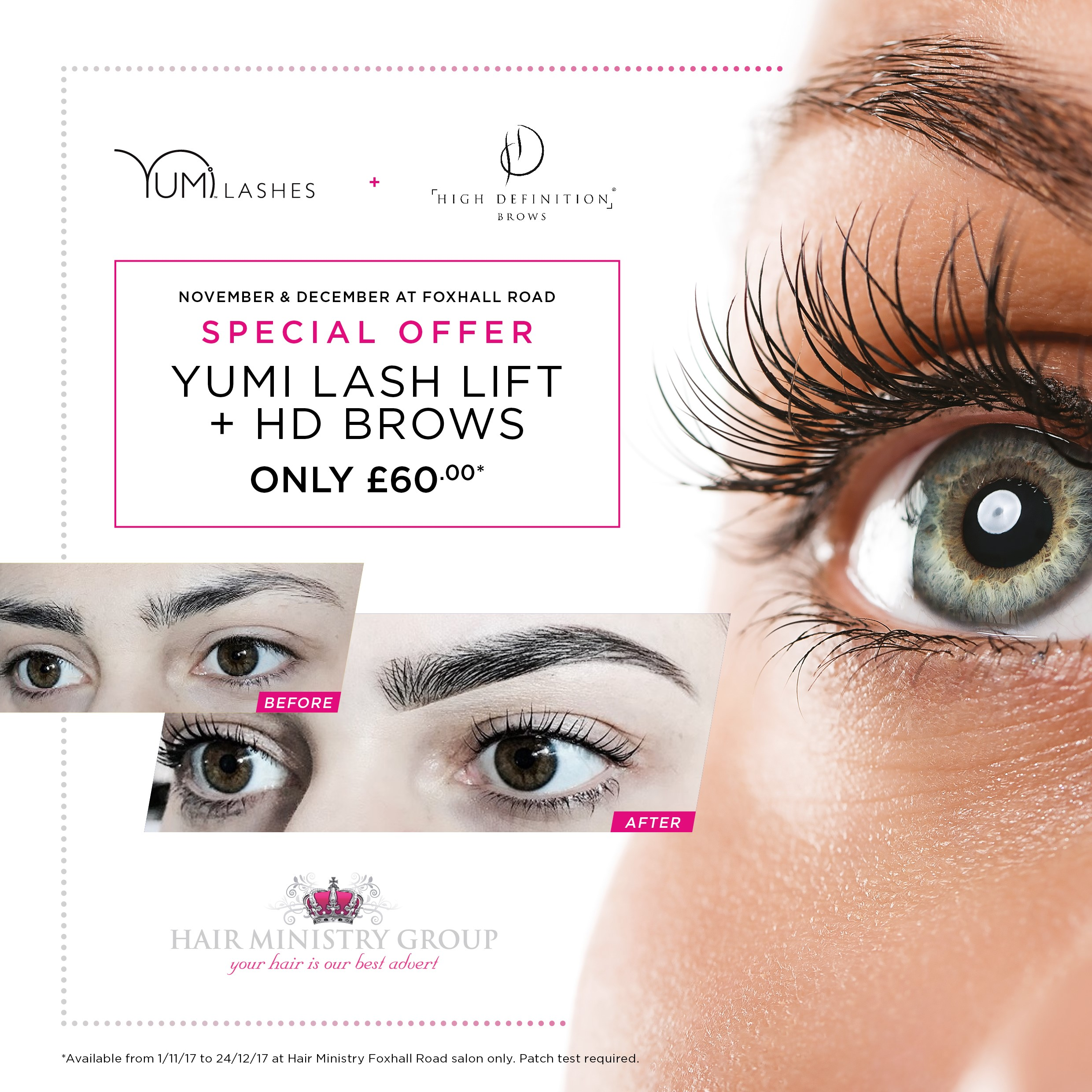 HD Brows & Yumi Lash Lift Special