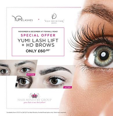 HD Brows & Yumi Lash Lift Special