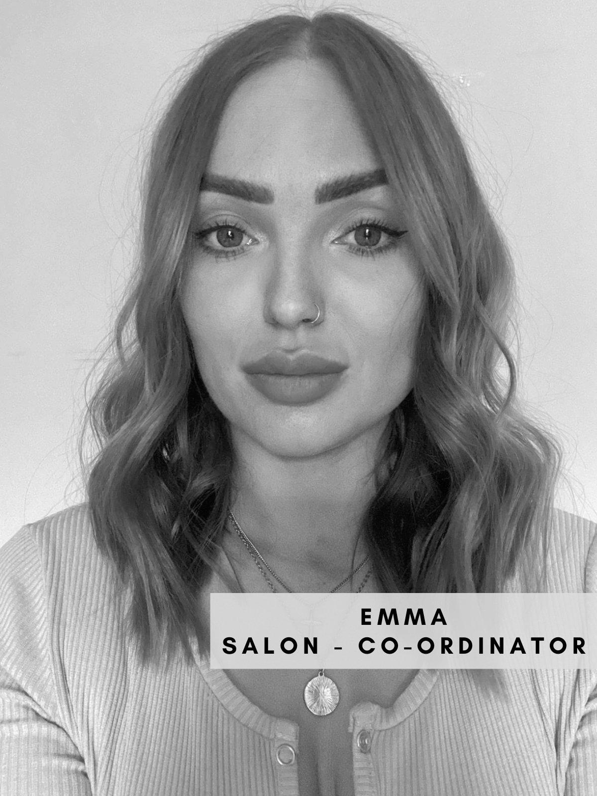 Emma – Salon Co-Ordinator