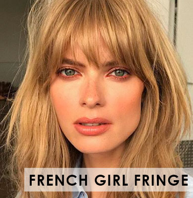 AW/18 Trends You'll Love: The French-Girl Fringe
