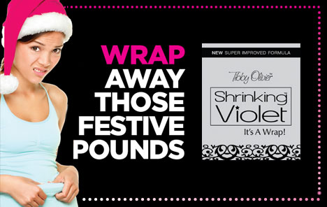 Shrinking Violet Body Wrap from £30