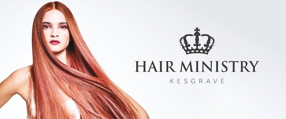 hair ministry kesgrave banner