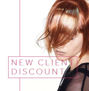 Hair Ministry New Client Discount