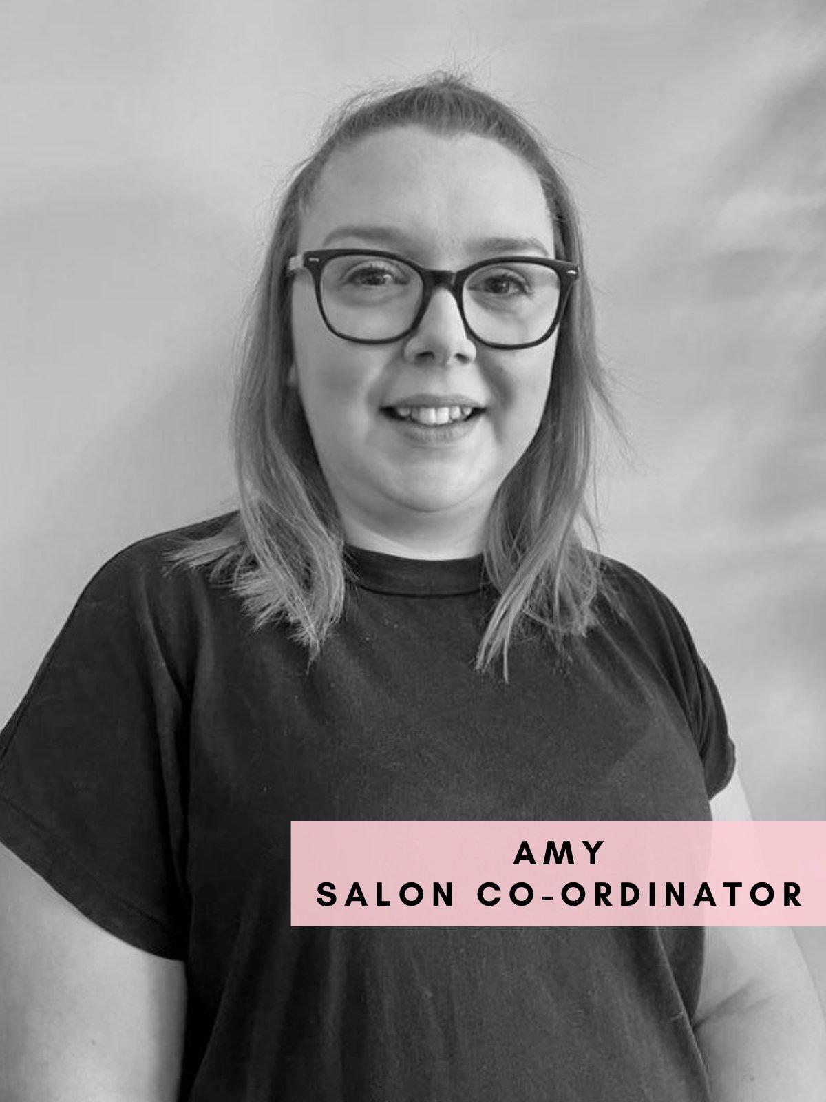 Amy – Salon Co-Ordinator