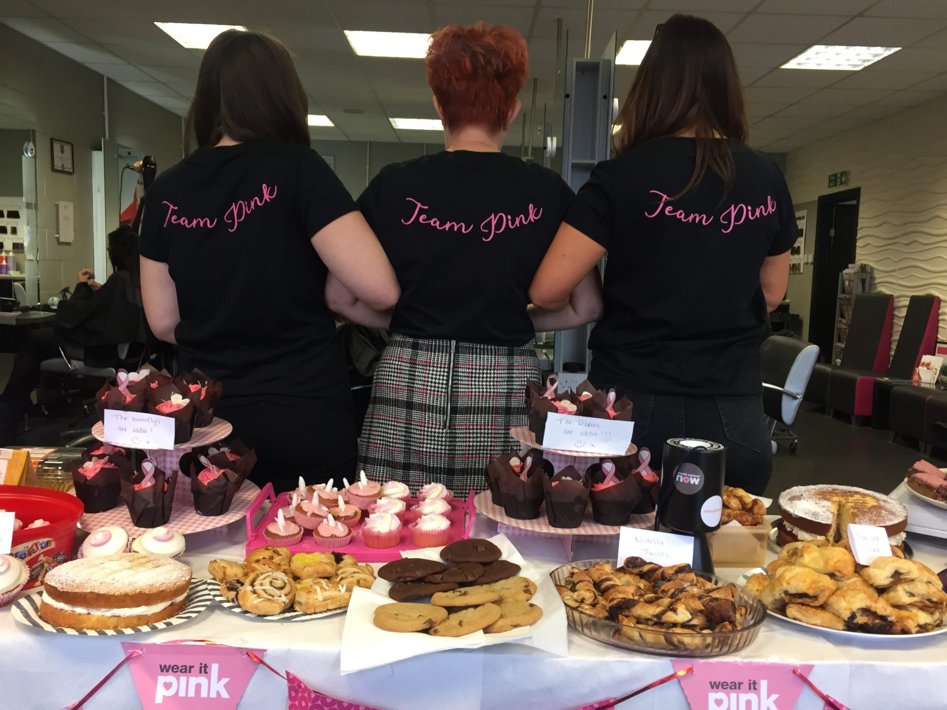 Hair Ministry, Pinewood host a Bake Sale for Breast Cancer Now