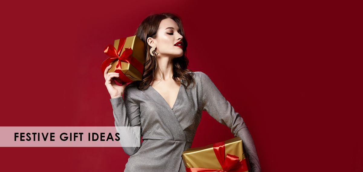 Festive Gift Ideas banner inner