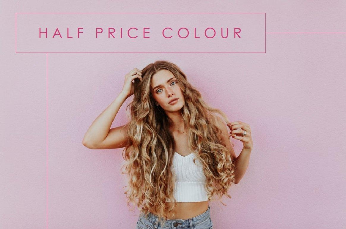 half price colour