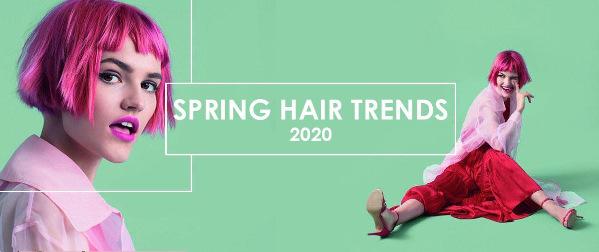 Spring Hair Trends 2020 banner