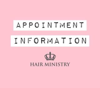 We are working towards re-opening our salons