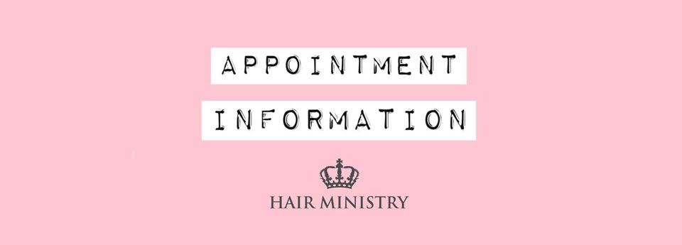 Hair Ministry re-opening our salons