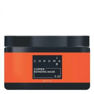 SCHWARZKOPF CHROMA ID COLOUR MASK 7-77 -COPPER-