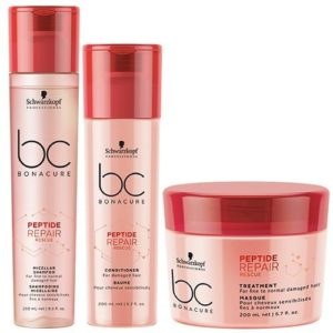 Schwarzkopf repair shampoo ,conditioner and treatment set
