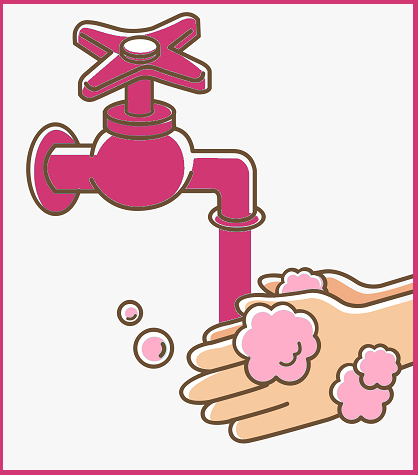 hand wash clipart