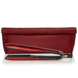 GHD platinum+ deep scarlet styler limited edition
