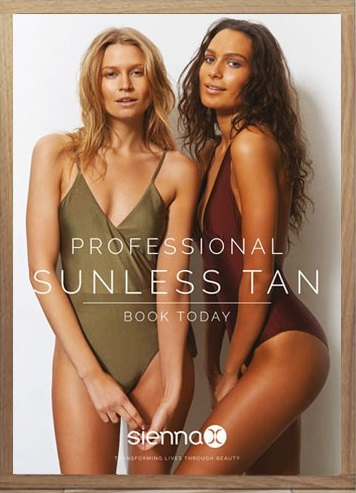 professional sunless tan