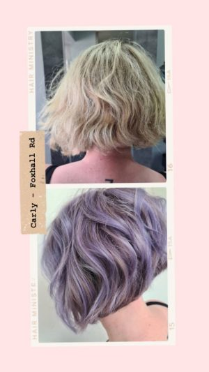 LILAC HAIR COLOURS IPSWICH SALONS