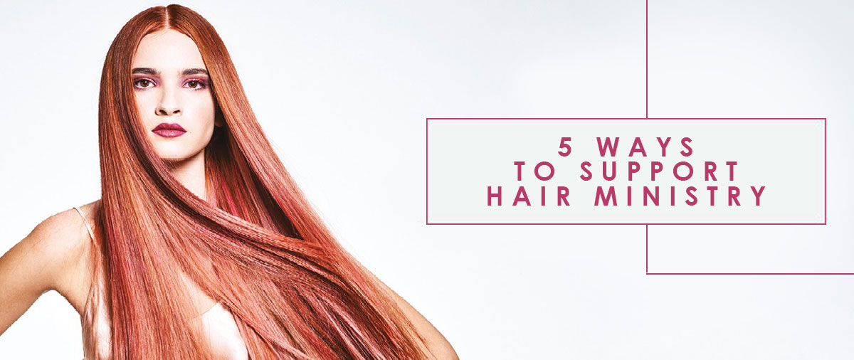 5 Ways To Support Hair Ministry banner