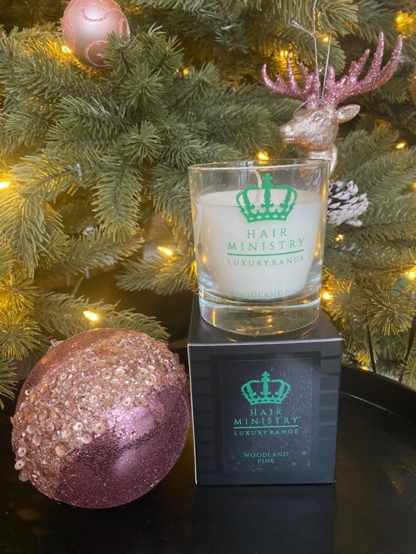 Hair Ministry Woodland Pine Candle