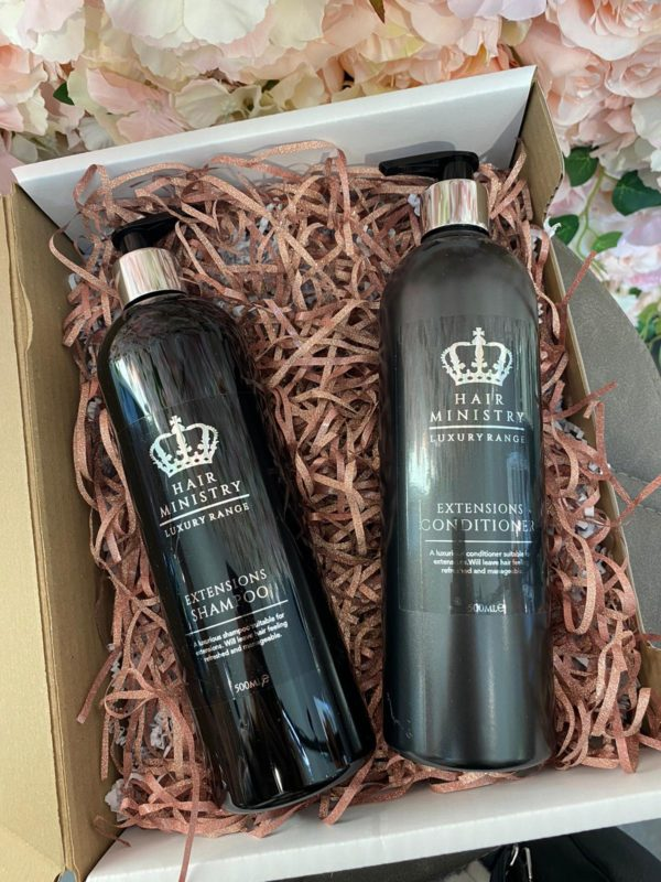 Hair Ministry extension shampoo and conditioner 500ml