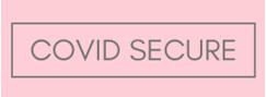 covid secure button