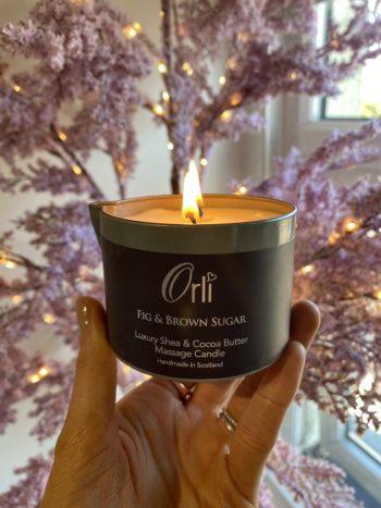 Fig Candle Massage, Top Ipswich beauty salon