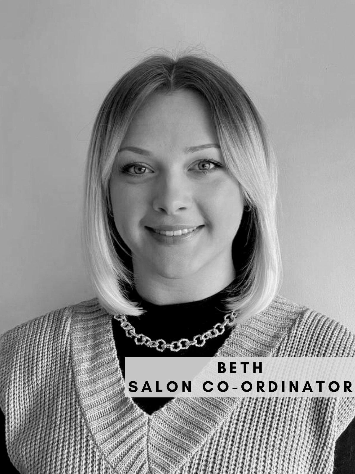 Beth – Salon Co-ordinator