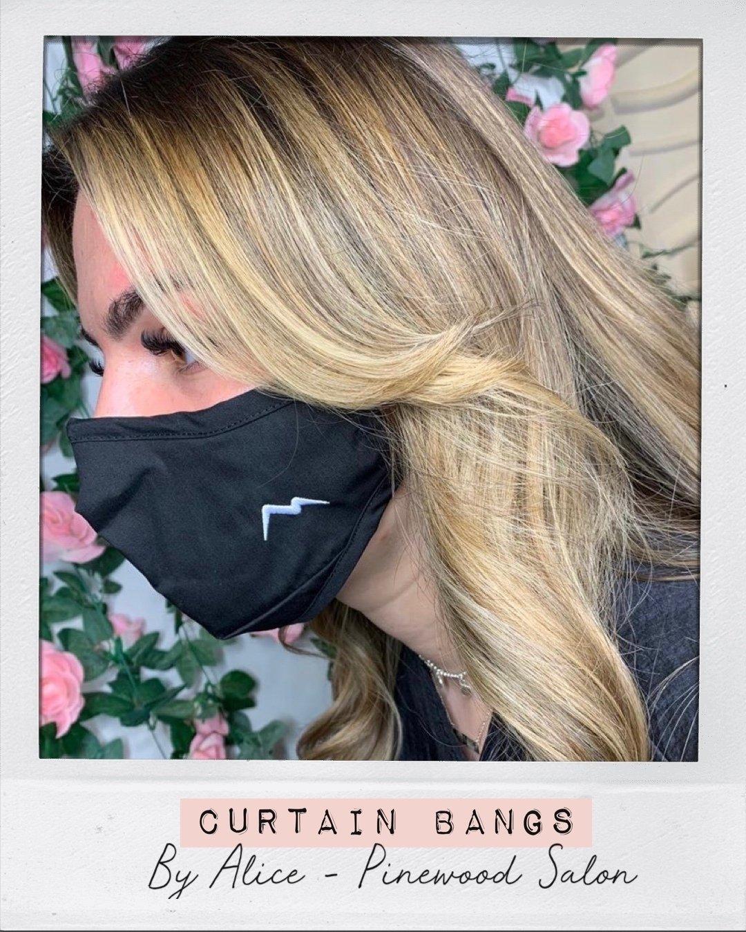 Curtain Bangs Hair Ministry Ipswich