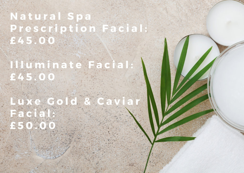 Natural Spa Hair Ministry Price List