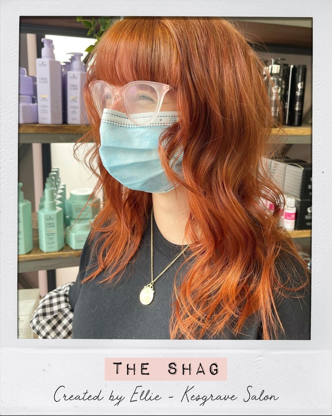 Shag Haircut Hair Ministry Ipswich