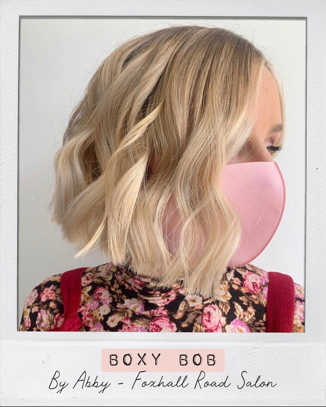 Boxy Bob Haircut Hair Ministry Ipswich