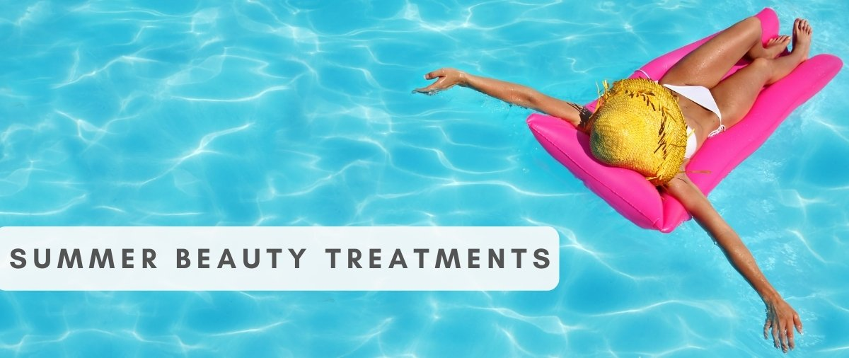 Summer Beauty Treatments at Hair Ministry Banner 1