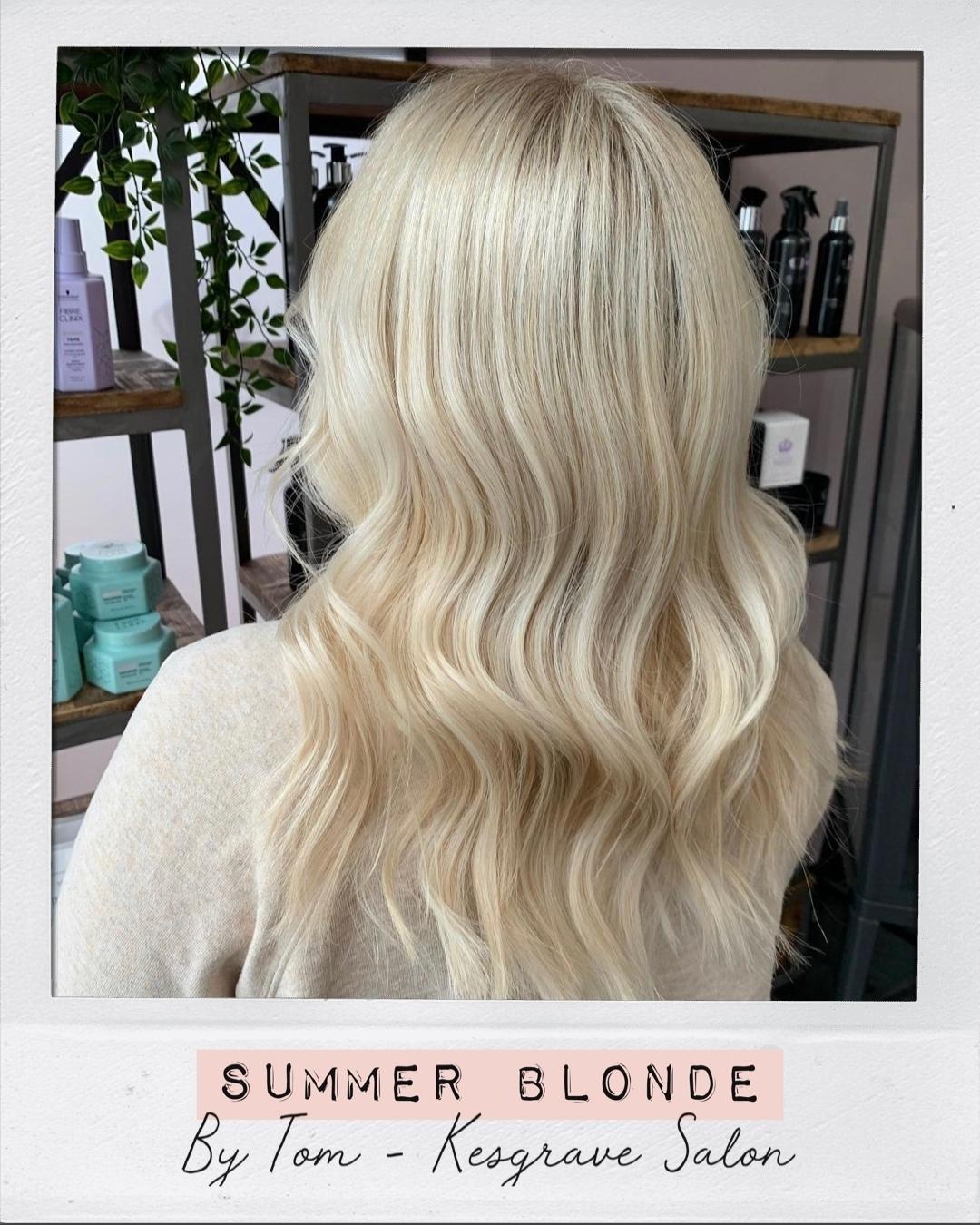 Summer Blonde Hair Hair Ministry Ipswich