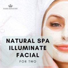 Natural Spa Illuminate Facial For two