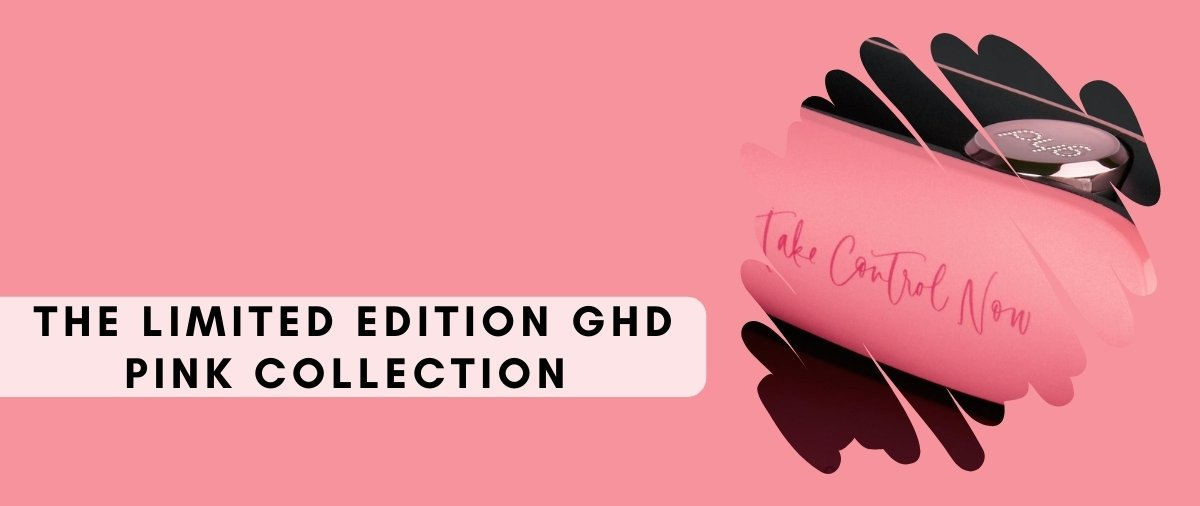 GHD Pink at Hair Ministry Banner