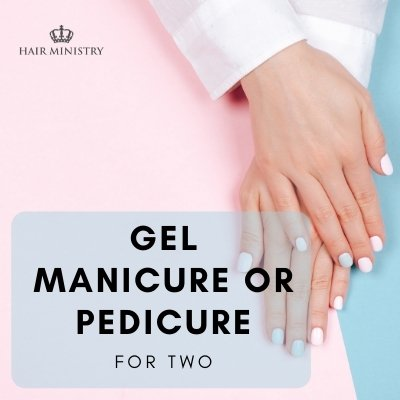 Gel Manicure/Pedicure - For Two
