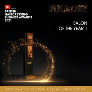 We are through to the finals of the British Hairdressing Business Awards 2021!