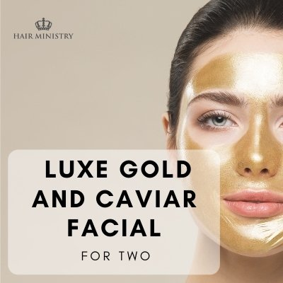 Luxe Gold & Caviar Facial - For Two