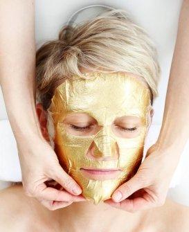 Natural Spa Gold facemask at Hair Ministry