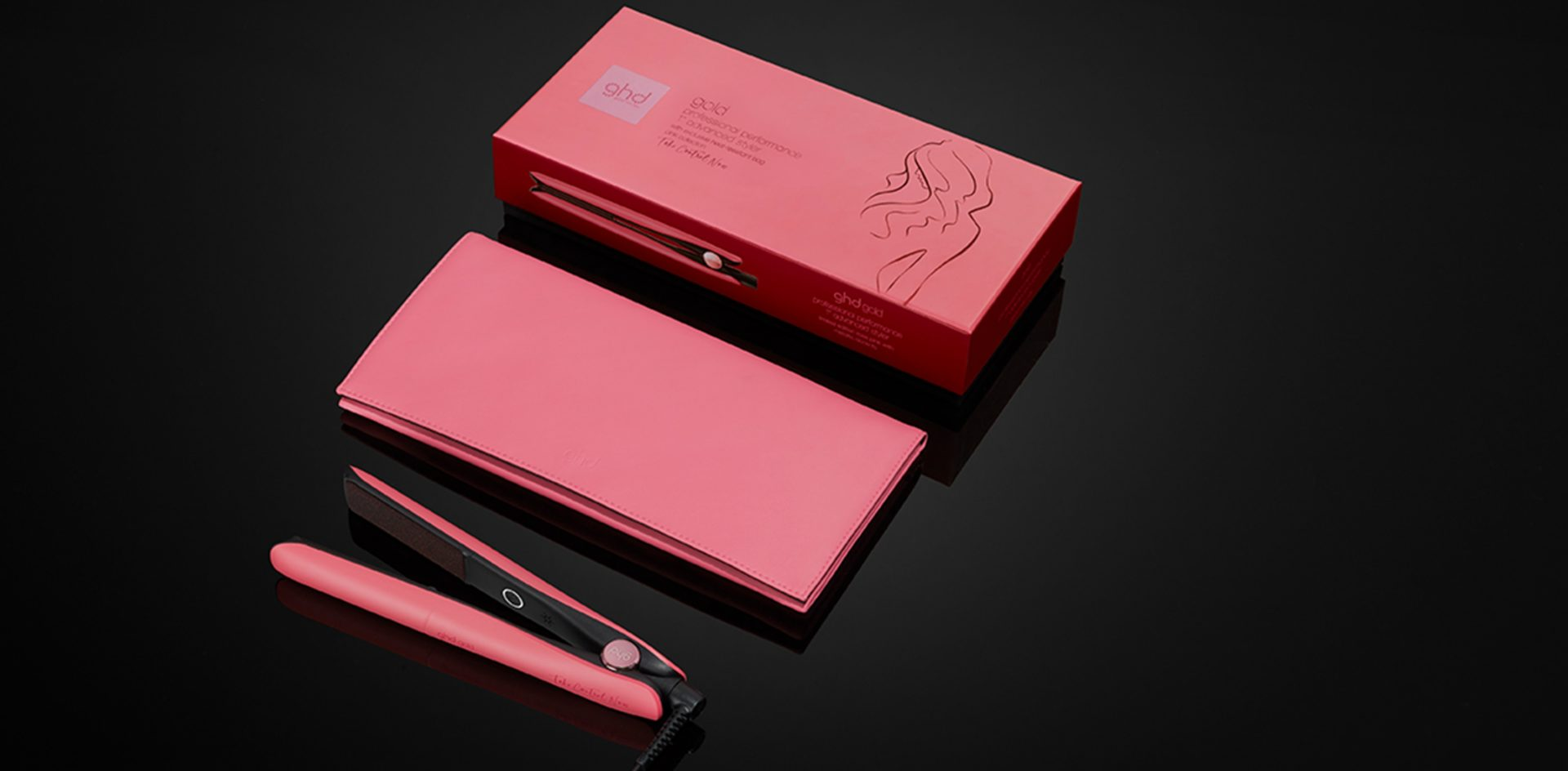 GHD Pink Gold Stylers at Hair Ministry 2