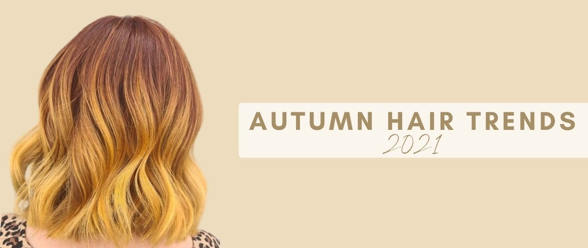 Autumn hair trends at hair ministry banner