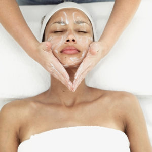 Skin peel at hair ministry graphic