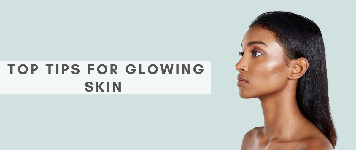 Top tips for glowing skin at hair ministry banner